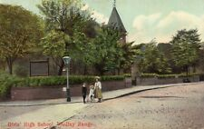 MANCHESTER - Girls High School - Whalley Range - 1907 Original Postcard (UKRA)