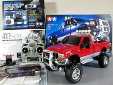 Tamiya 1/10 Ford F350 High Lift Truck+ MFC-02 light sound unit + Futaba +Upgrade