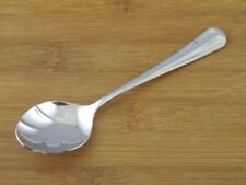 "Retroneu Jamestown Sugar Shell Spoon 6"" VGC Stainless Flatware Silverware"