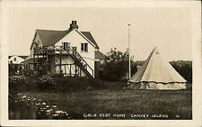 Canvey Island. Girls Rest Home # 16. Tent.