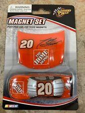 Tony Stewart HomeDepot #20 NASCAR Car & Hood Magnet Winner's Circle RARE DieCast