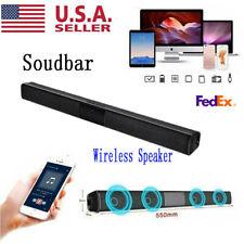 Surround Sound Bar Speaker System Wireless Subwoofer TV Home Theater Sound Box