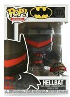 HELLBAT BATMAN EXCLUSIVE FUNKO POP DC COMICS SUPER HEROES #373 PRE ORDER