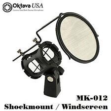 Oktava - New MK-012 Shockmount With Pop Filter - Oktava