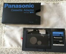 Used VW-TCA7 VHS-C/VHS cassette adapter Panasonic  Free Shipping from JAPAN
