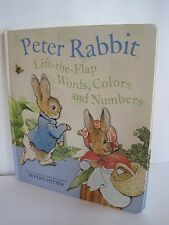Peter Rabbit Words Colors And Numbers: Lift The Flap by Beatrix Potter