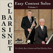 Easy Contest Solos Bass Clarinet Vol. 1, New Music