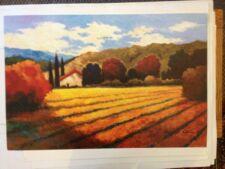 """Art Print: Autumn Vinyard"""" Kanayo Ede. 26 X 33"""