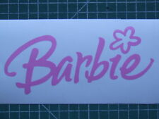 3 BARBIE stickers decal window laptop car bike skate