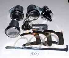 1959 60 61 62 Corvette  ignition doors trunk  glovebox lock set OE QUALITY 301