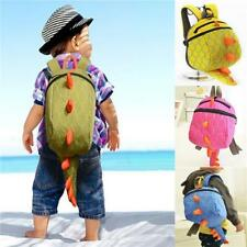 Baby Kid Toddler Cute Dinosaur Walking Safety Harness Backpack Reins Strap Bag S