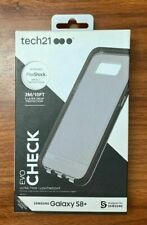 Tech21 Evo Check Active Edition Pure Clear Case for Samsung Galaxy S8+ Plus BLK
