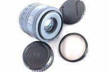 Pentax-F 35-80 mm F/4-5.6 AUTO FOCUS ZOOM LENS + tappi e filtro