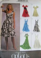 Vogue 8470 OOP Sewing Pattern to MAKE Misses' Lined Dresses Vogue Size 8-16
