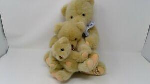 1994 Dakin Cherished Teddies Special Edition 3 Bear Plush Set