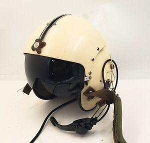 Viet Nam Blackhawk Helicopter Pilot Helmet GenTex dated 2/65 Single Visor
