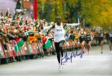 Eliud Kipchoge Marathon signed 8x12 inch photo autograph