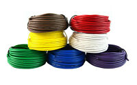 Rewire Trailer Wire Light Cable 18 GA  7 Way - Colors 25ft  Rolls each