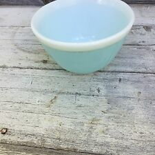 Vintage Pyrex Blue Americana 401 Bowl