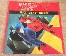 WARM JETS big city boys*mr. natural 1979 UK RSO PS 45