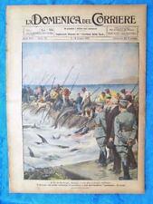 La Domenica del Corriere 12 giugno 1921 Vittorio Emanuele III-Queentown-Umberto