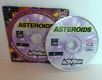 Asteroids Activision CD Rom PC Head Games Extreme Mountain Biking 1998
