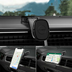 360° Car Mount Cradle Magnetic Holder Stand For iPhone 12 Mobile Cell Phone GPS