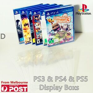 Game Cartridge Cover Protector Case Sony PS3&PS4 Games Display Case