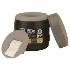 Reliance 984421 Hassock Portable Lightweight Self-Contained Toilet