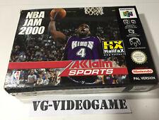 NBA JAM 2000  NINTENDO 64 NUOVO!!