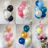 10 - 50 LARGE BALLONS Helium Quality baloons Party Birthday Wedding Balloons NEW