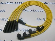 YELLOW 8MM PERFORMANCE IGNITION LEADS FITS. ESCORT PHASE 2 / SERIES 2 RS TURBO