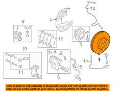 LAND ROVER OEM 10-15 LR4 Front Brake-Disc Rotor SDB000624