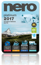 Nero 2017 Platinum HD Suite Instant * DOWNLOAD * WORLDWIDE burn rip backup