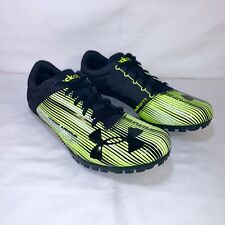 release date: d337a f5c52 Under Armour Racing Mens Kick Sprint Spike Size 12 LimeBlack 1273939-300