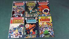 Kamandi #16 17 18 19 20 27 lot of 6 1974 Bronze Age Comics