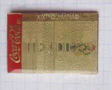 COCA-COLA / OLYMPISCHE SPIELE MEXICO 1968 ............. Pin (128a)