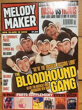 Melody Maker 12/04/2000 The Bloodhound Gang cover, Bellatrix, Macy Gray