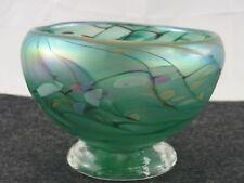 BELLA antico ciotola di vetro vermutlich Wilhelm Kralik BOEMIA circa 30 ANNI