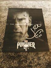 Jon Berthnal The Punisher Signed 8x10 Photograph