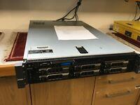 DELL PowerEdge R710 V2 Server Dual 6-Core X5660 72GB RAM *18TB Storage* ESXI 6.7