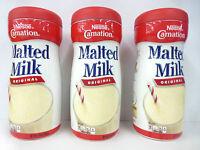 3 Nestle CARNATION MALTED MILK ORIGINAL