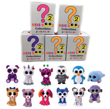 Set of 5 TY Beanie Boos Mini Boo (SERIES 2) Collectible Figurines BLIND BOXES