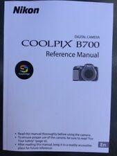 NIKON COOLPIX B700 Manual  - Printed & Professionally Bound Size A5