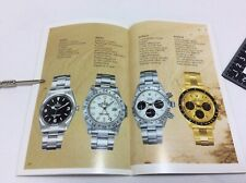 Rolex Oyster Vintage 1983 Watch Broucher Catalog in English + FREE SHIPPING