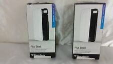 BLACKBERRY FLIP SHELL Z10 NFC FRIENDLY CELL PHONE CASE WHITE COLOR SET OF TWO