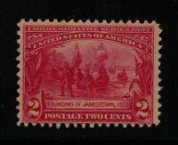 1907 Jamestown Sc 329 MLH CV $30