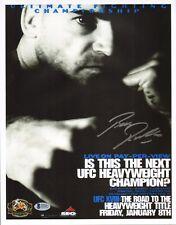Bas Rutten Signed 11x14 Photo Beckett COA UFC 18 1999 Poster Picture Autograph