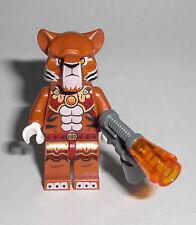 LEGO Legends of Chima - Tazar - Figur Minifig Tiger Feuerpulser Raubkatze 70224