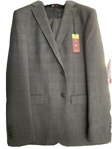 """Mens Marks And Spencer Luxury Pure Wool Two Piece Suit BNWT 45"""" Chest 34"""" Waist"""